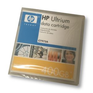 HP LTO2 Ultrium Data Cartridge C7972A 200/400 GB NEU